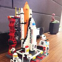 航天飞机儿童火箭模型礼物10-12岁益智拼装智力拼插积木男孩玩具