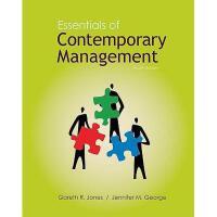 【预订】Essentials of Contemporary Management with Connect