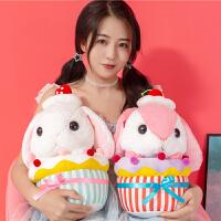 可爱垂耳兔毛绒玩具兔子娃娃公仔公主睡觉玩偶生日礼物送女友