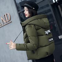 棉衣女短款冬季新款韩版学生外套小袄子学院风百搭连帽潮