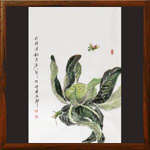 水墨小品《田园系列》于洪顺 实力画师R2489