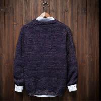 男装秋冬季长袖T恤卫衣加厚毛衣潮流衣服打底衫男修身男士针织衫