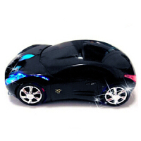 汽车鼠标跑车赛车法拉利个性创意时尚卡通家用办公USB无线鼠标 官方标配