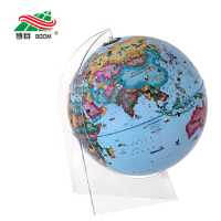 30cm中英文政区立体地球仪-(LED灯光型)*9787503033445 北京博目地图制品有限公司