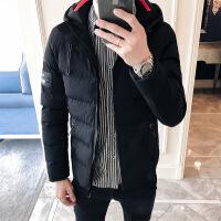 男士冬季外套2018新款潮秋韩版学生棉袄短款男装加厚羽绒棉衣