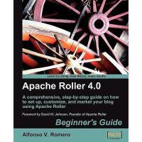 【预订】Apache Roller 4.0 - Beginner's Guide