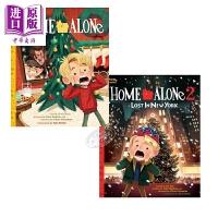 【中商原版】当代电影绘本2册 小鬼当家 Home Alone 电影绘本 独立阅读入门 绘本故事书 7~12岁 英文原版