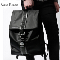 Clous Krause 双肩包CK男包男士时尚简约型休闲男包运动潮流手提双肩背包电脑包