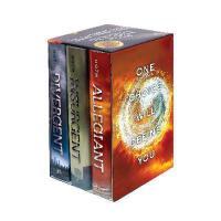英文原版 分歧者三部曲套装(随书赠送作者简介)Divergent Series Complete Box Set Di