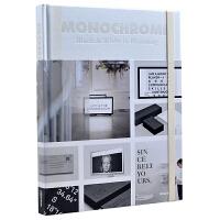 MONOCHROME: BLACK & WHITE IN BRANDING 单色:品牌的黑与白 品牌视觉创意 色彩搭配 各种产品、物品上的设计 平面设计书籍