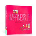 英文原版绘本 Happiness Is 200 Celebrations of Sisterhood 幸福是..200