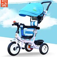 儿童三轮车脚踏车钛空轮婴儿手推车宝宝自行车1-5岁