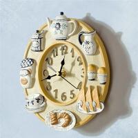 时钟挂钟时尚创意客厅现代简约钟表潮流静音餐厅艺术装饰