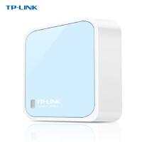 TP-LINK 普联 TL-WR802N 300M迷你型无线路由器 便携式随身wifi上网穿墙王出差酒店旅游ap 有线