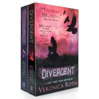 现货!Divergent Insurgent 分歧者 叛乱者 英文原版 小说书 套装 Divergent
