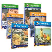 英文原版 key words 9a 9b 9c 10a 10b 10c 6本套装分级阅读自然拼读能够让孩子脱口而出漂亮