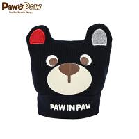 【2件2.5折 到手价:40】Pawinpaw卡通小熊童装冬款男女宝宝款帽子PBAC74981K