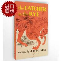 【现货】英文原版The Catcher in the Rye  麦田里的守望者 小说 塞林格 著  小开本简装版