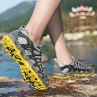 夏季户外鞋情侣登山徒步溯溪鞋女网面透气排水男鞋涉水鞋
