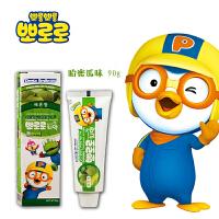 宝露露(Pororo)啵乐乐小企鹅儿童牙膏系列 哈密瓜味
