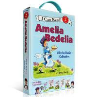 英文原版 I Can Read Level 2 Amelia Bedelia 我会阅读系列糊涂女佣5本盒装 3-6-1