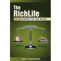 【预订】The Richlife: Ten Investments for True Wealth - How
