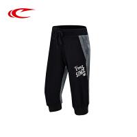 2件59元 赛琪夏季新款棉运动裤女士透气休闲针织七分裤女子跑步运动短裤