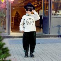 唐装儿童汉服女童周岁宝宝新年衣服男童过年拜年服女中国风童装冬