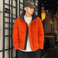 男羽绒服短款冬装2019新款韩版潮流轻薄工装潮牌冬季保暖男士外套
