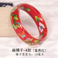 手镯女复古宫廷北京礼品民族风镯子手饰送妈妈