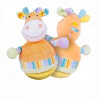 大号儿童早教玩具 0-1-3岁婴儿宝宝音乐充气不倒翁 小鹿丛林不倒翁