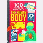 原版英文100 things to know about the human body 关于人体的100件事 图书活动