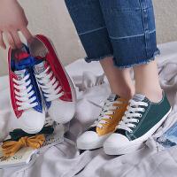 2018秋季新款chic帆布鞋女ins的1992韩版学生原宿ulzzang板鞋女