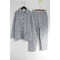 L06079秋季新款韩版简约单排纽扣保暖加厚男士家居服睡衣套