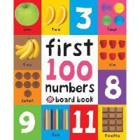 A First 100 Soft to Touch Book 早教触摸书:100个数字