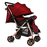 0/1-3岁宝宝儿童简易便携式小孩手推车婴儿推车可坐可躺轻便折叠
