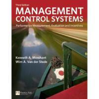 【二手旧书8成新】Management Control Systems: Performance Measuremen