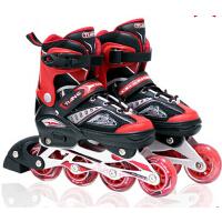 女生可调直排轮滑鞋成人单排旱冰鞋儿童溜冰鞋