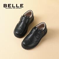 【券后价:178.9元】百丽童鞋男童英伦风小皮鞋2021秋季新款儿童学生鞋校园演出鞋单鞋