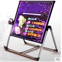 电子荧光板 手写led广告牌夜光闪光发光写字屏小黑板礼品