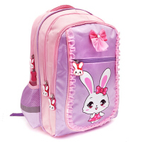 可爱公主双肩背包 儿童书包小学生女孩1-3-5年级6一12周岁女童