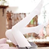 【内衣优选】日系森女系公主少女小清新洛丽塔纯白学生舞蹈奶白天鹅绒连裤丝袜 80D奶白色连裤袜 均码