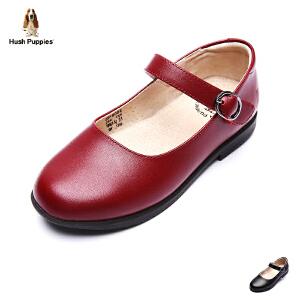 暇步士童鞋2017年新款女童真皮皮鞋中大童学生演出鞋DP9084