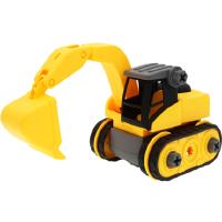 宝宝玩具车男孩儿童挖掘机汽车挖土机拆装工程车套装吊车搅拌大号