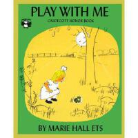 Play with Me 英文原版儿童书 和我一起玩 1956年凯迪克银奖