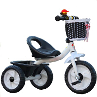 脉驰 儿童手推三轮车童车小孩自行车脚踏车玩具宝宝单车1-2-3-4岁使用