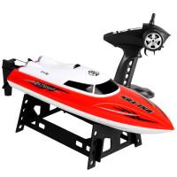 电机快艇男孩电动玩具赛艇儿童大型船模高速遥控船无线水冷