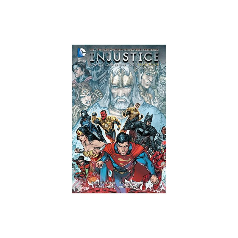 Injustice: Gods Among Us Year Four Vol. 1 不公平:上帝在我们中【英文原版】