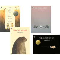 Jon Klassen 4册 英文原版 I Want My Hat Back Sam and Dave Dig a Hole This Is Not My Hat We Found a Hat