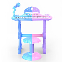 小孩音玩具琴3-6-7-8周岁9礼物儿童电子琴女孩钢琴麦克风宝宝